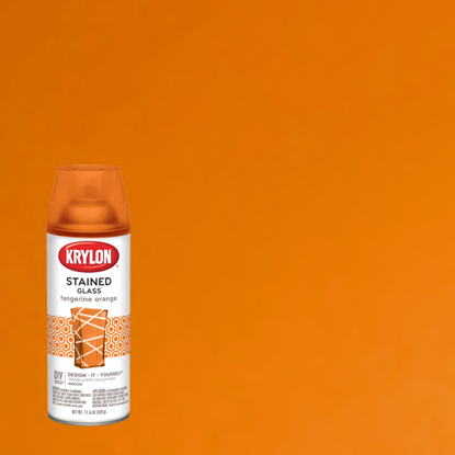 Picture of Krylon Stained Glass Tint-Tangerine