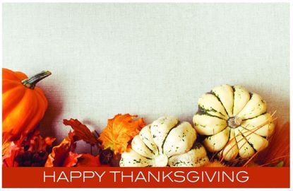 Picture of Thanksgiving Enclosure Card