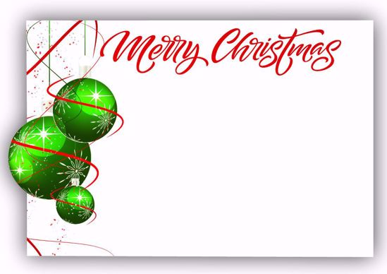 Picture of Merry Christmas Enclosure Card