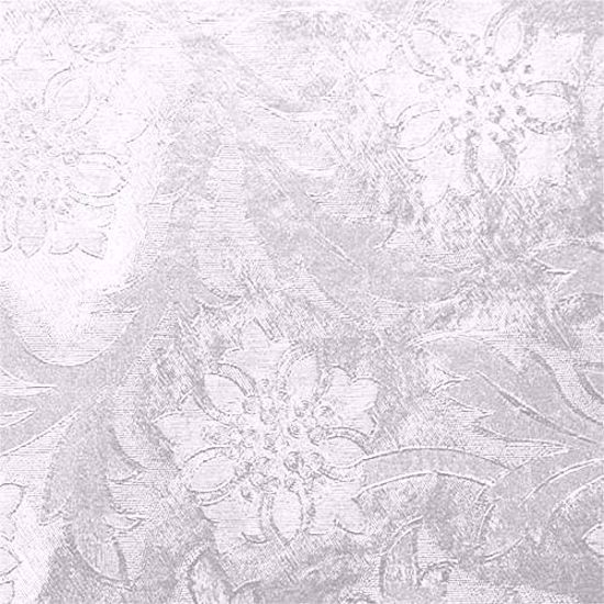 Picture of Poly Embossed Foil-White