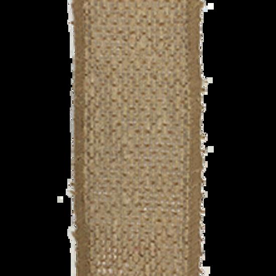 Picture of #9 Burlap Ribbon- Natural