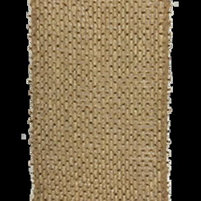 Picture of #40 Burlap Ribbon- Natural