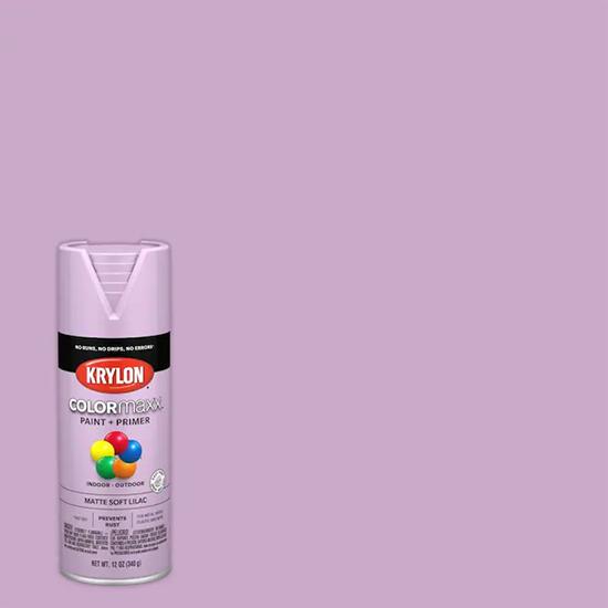 Picture of Krylon Colormaxx (Matte Finish) -Soft Lilac