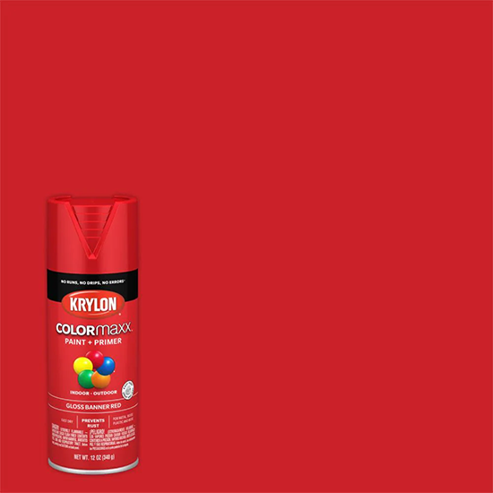 Picture of Krylon Colormaxx-Banner Red